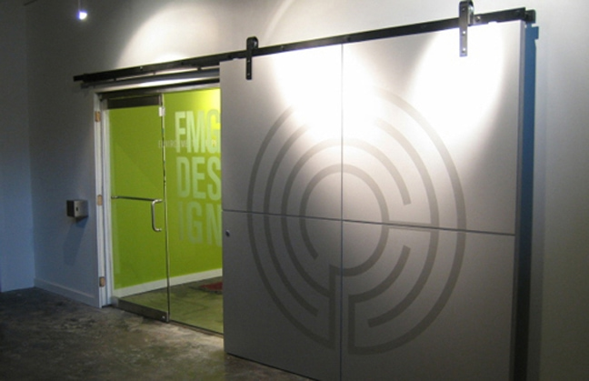 FMG Studio Entrance Door