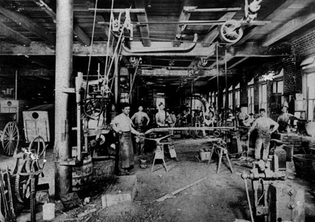 Eller Wagon Works in Actual FMG Studio Space - Circa 1910