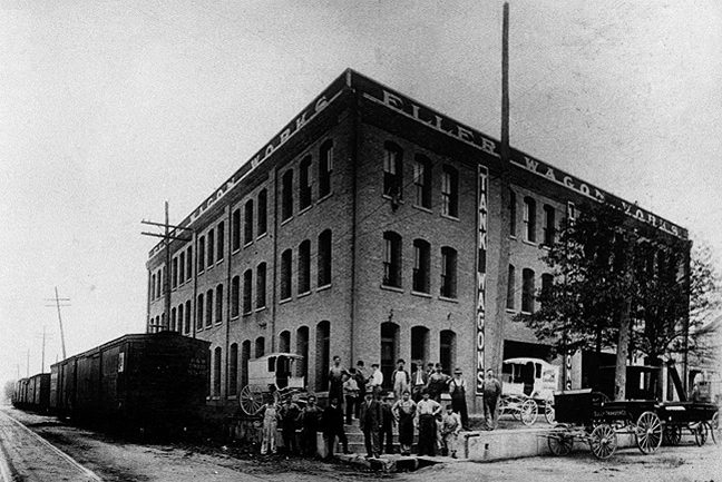 Eller Wagon Works Building - Circa 1910