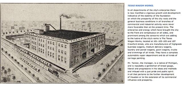 Texas Wagon Works before Eller Wagon Works