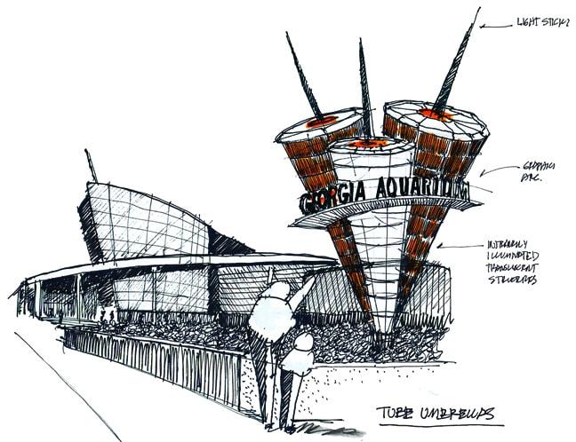 Fmg Design Inc Case Study Georgia Aquarium