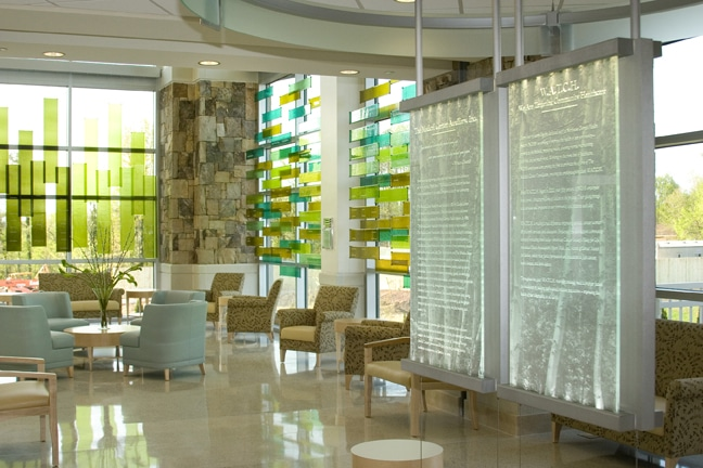 Northeast Georgia Medical Center - Donor Recognition Graphics Hall of Honor