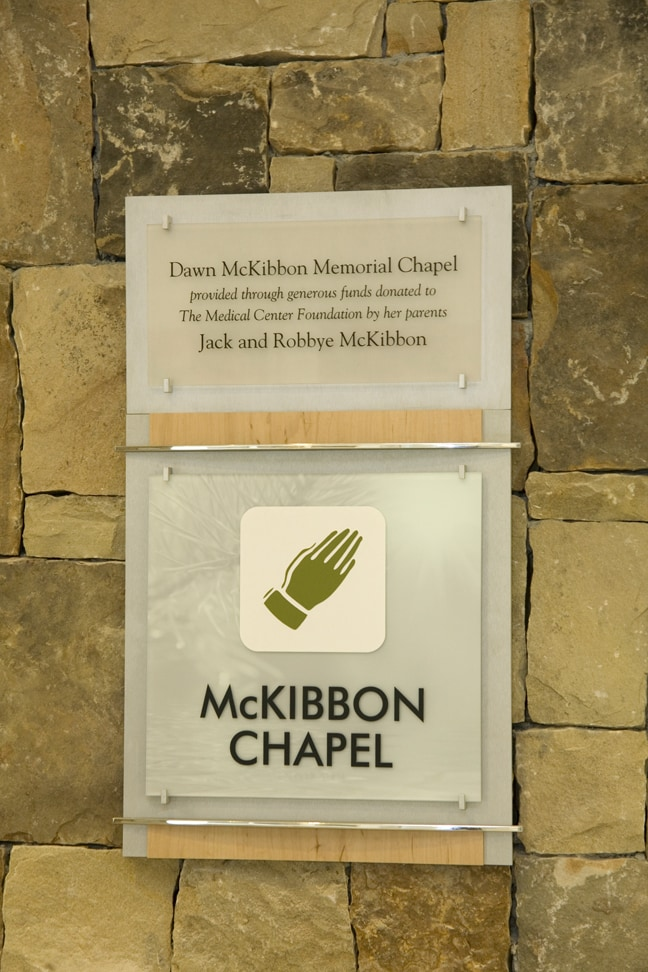 Northeast Georgia Medical Center - McKibbon Donor Plaque