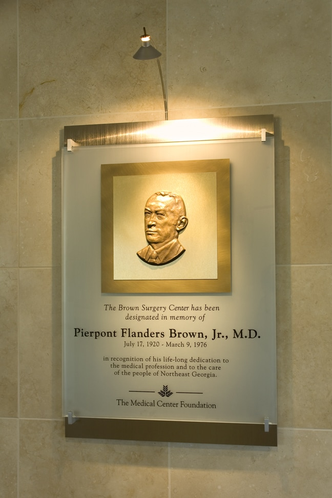 Northeast Georgia Medical Center - Pierpoint Donor Plaque