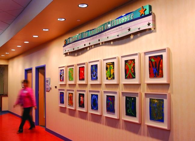 Vanderbilt Children's Hospital - Donor Recognition Ribbon