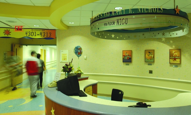 Vanderbilt Children's Hospital - Donor Recognition Halo NICU