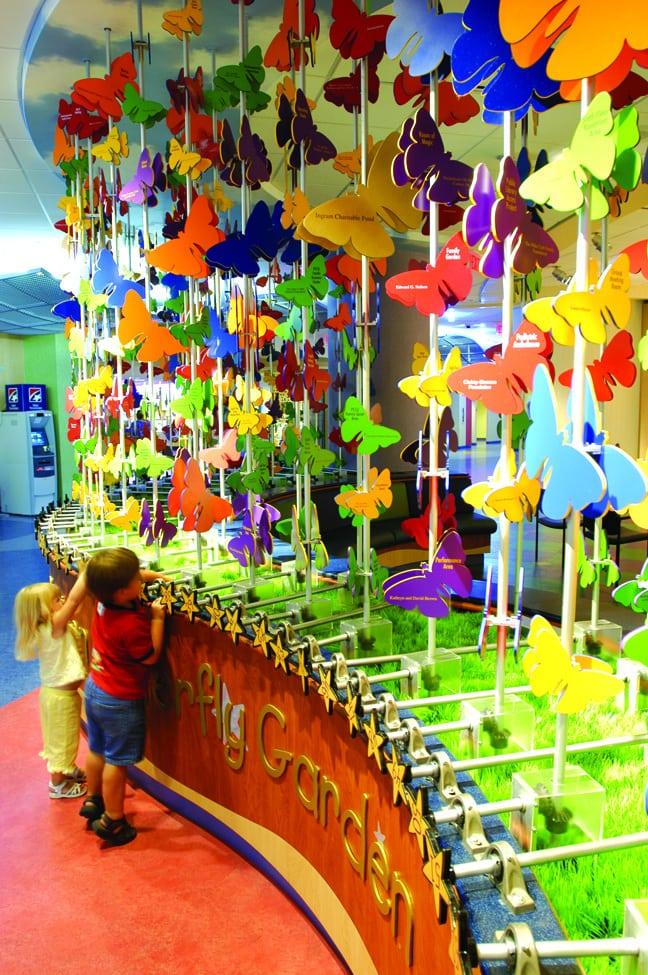 Vanderbilt Children's Hospital - Donor Recognition Butterfly Garden