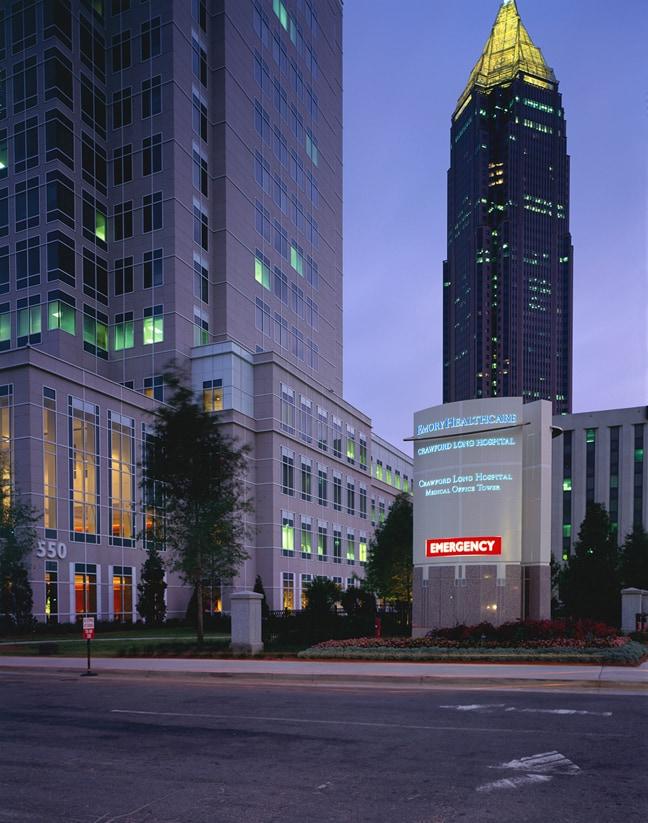 Fmg Design Inc 187 Emory Crawford Long Hospital Atlanta