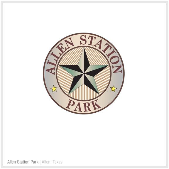 FMG Logo: Allen Station Park | Allen, Texas