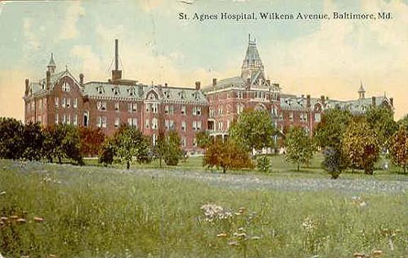 Saint Agnes Historical Postcard