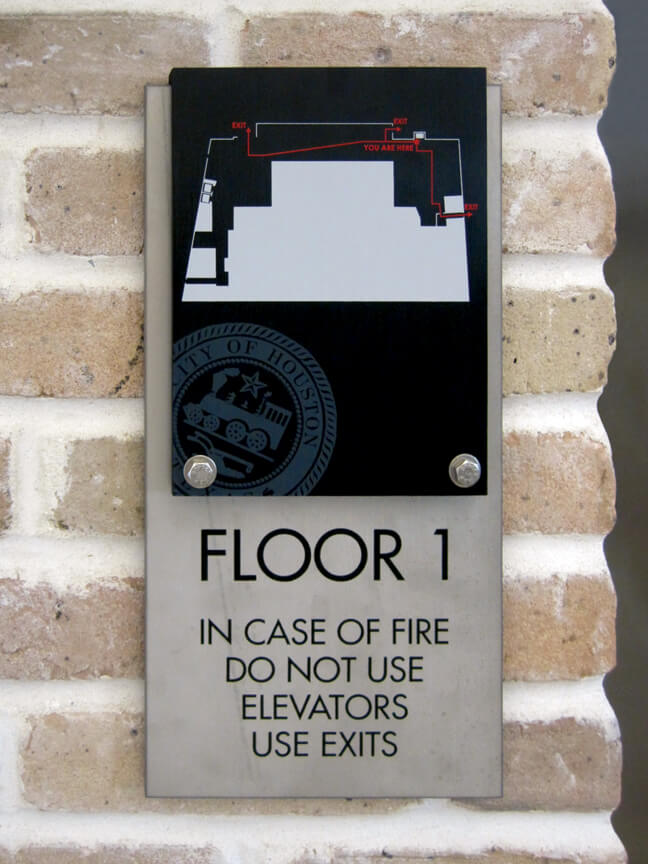COHPC_City of Houston Permitting Center_ECP Elevator Code Plaque