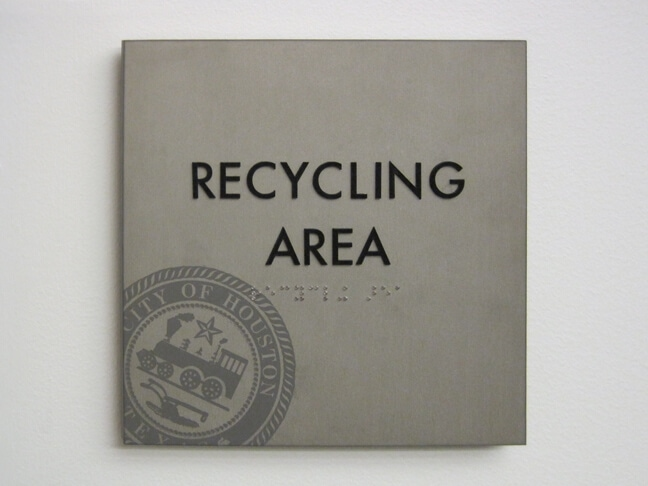COHPC_City of Houston Permitting Center_TRP Tertiary Room Plaque