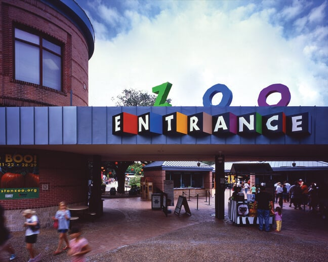 HZ_Houston Zoo_Entrance Graphics