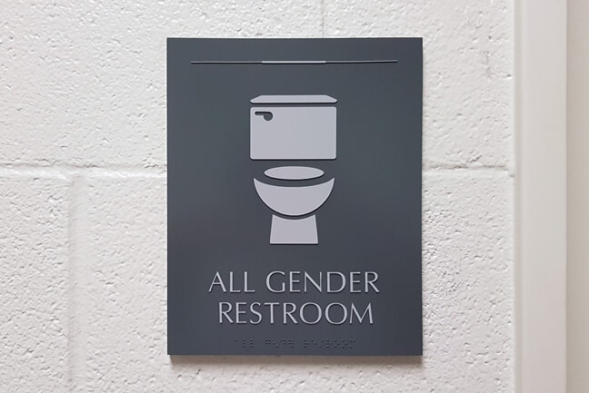 RU_Rice University Gender Inclusive_RRP.C Restroom Plaque
