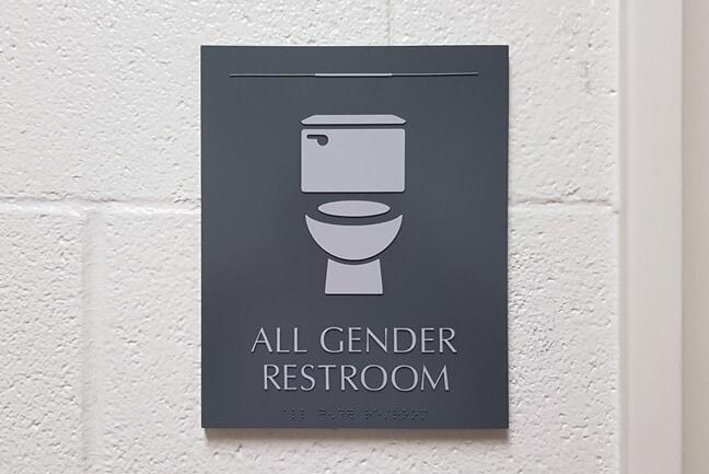 RU_Rice University Gender Inclusive_RRP.C Restroom Plaque