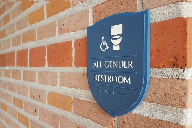 RU_Rice University Gender Inclusive_RRP.Z1 Restroom Plaque