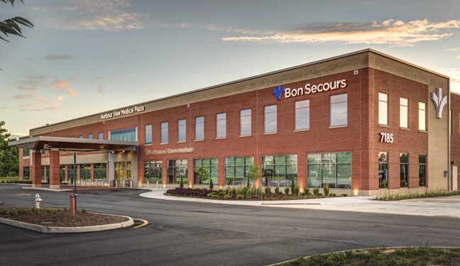 Bon Secours Hampton Roads - Harbor View Medical Plaza - Exterior Building