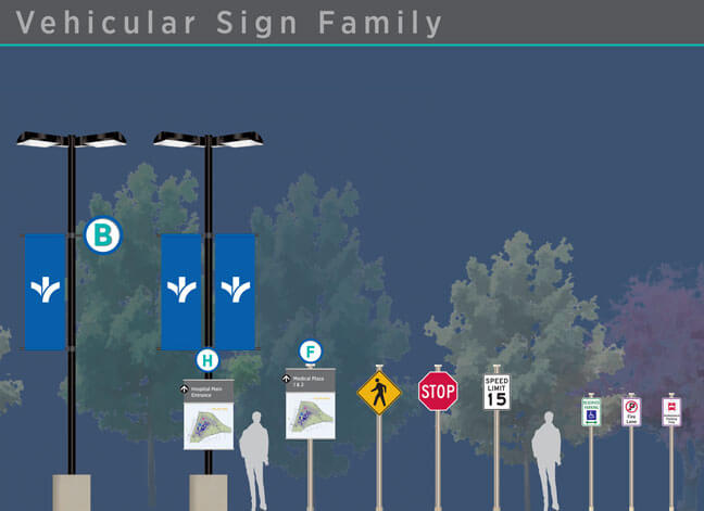 Bon Secours - Vehicular Sign Family 2