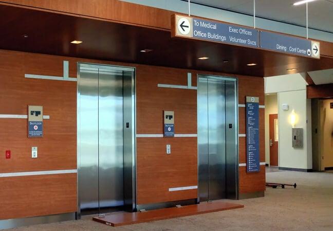 Houston Methodist The Woodlands Hospital - ELD Elevator Lobby Directory