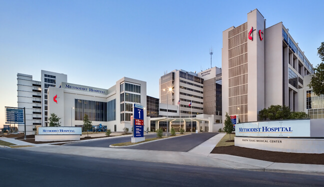 Methodist Children's Hospital San Antonio - Exterior Graphics