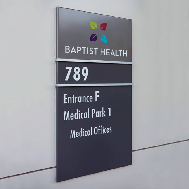 Baptist Health - Wall Mounted Identifier (WMI)