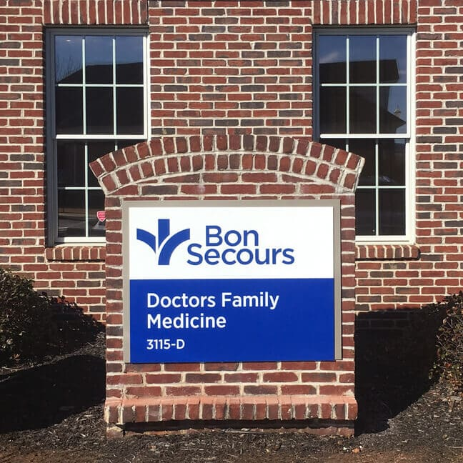 Bon Secours Greenville - MGI Medical Group Identifier