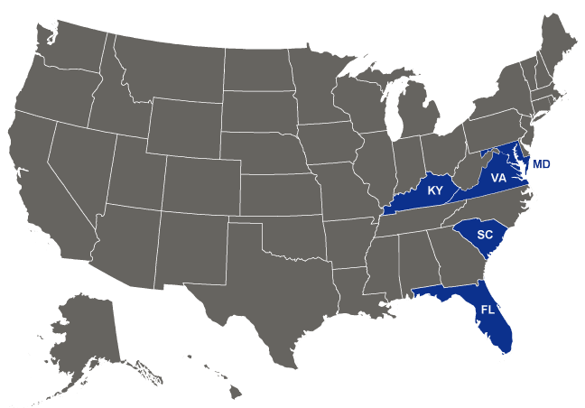 Bon Secours Health System - Locations across the US. Bon Secours holds facilities in five (5) Mid Atlantic states: Virginia, Maryland, Kentucky, Florida, and South Carolina.
