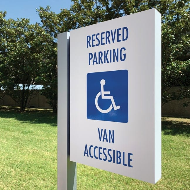 LC_Las Colinas Connection_Site Handicapped Van Parking HVP