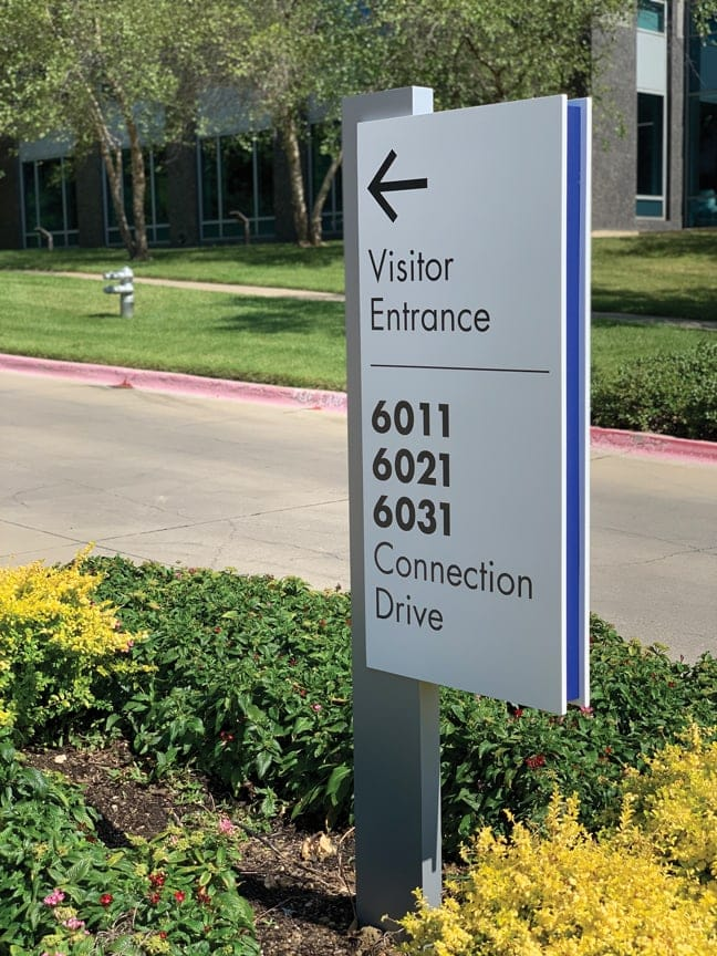 LC_Las Colinas Connection_Site Vehicular Directional Sign VDS