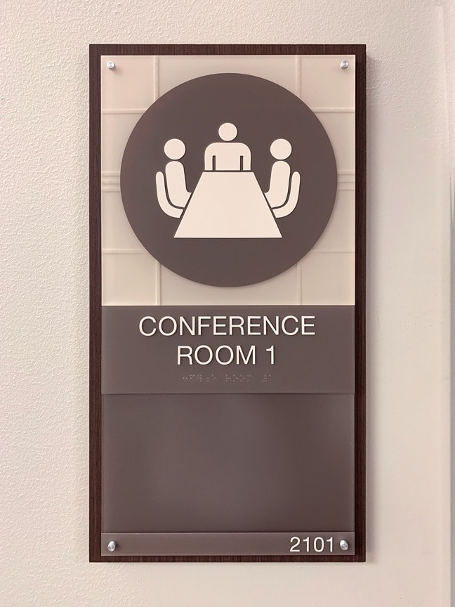 Houston Methodist Baytown Hospital - Interior Conference Room Plaque CRP