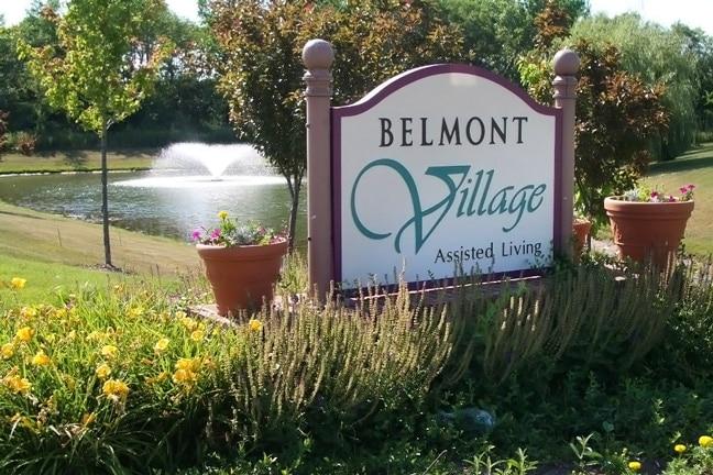 Belmont Village Senior Living - Exterior Building Identification Sign BIS